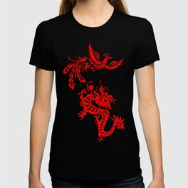 Phoenix Dragon Feng Shui T-shirt
