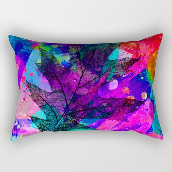splash leaf ii Rectangular Pillow