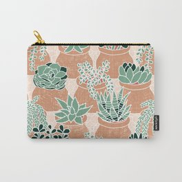 Succulent's Tiny Pots Carry-All Pouch
