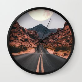 Mooned Wall Clock