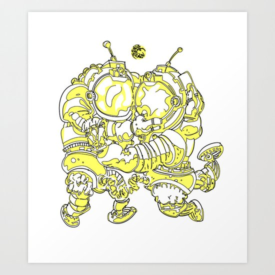 Space Fuckin' Art Print