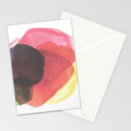 Rainbow Watercolor Immersion Stationery Cards