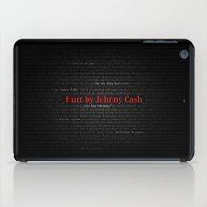 Hurt by Johnny Cash iPad Case