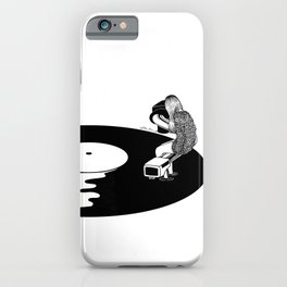 Don't Just Listen, Feel It iPhone Case