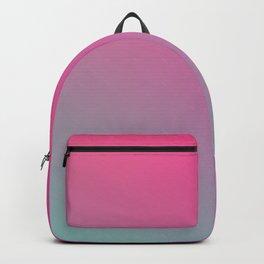 TOXIC FUMES - Minimal Plain Soft Mood Color Blend Prints Backpack