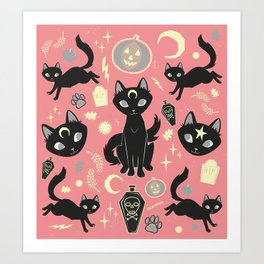 Witch Babies Art Print