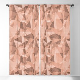 Abstract Geometrical Triangle Patterns 3 Pratt and Lambert Earthen Trail 4-26 Blackout Curtain