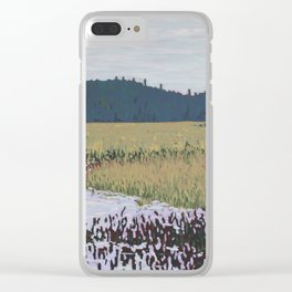 The Grassy Bay, Algonquin Park Clear iPhone Case