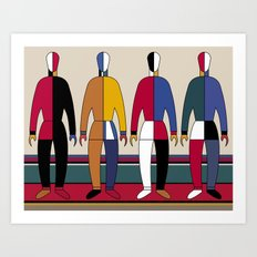 Suprematism Men Art Print