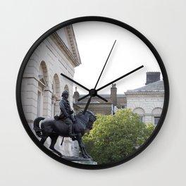 Horse Guards Wall Clock