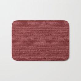 Dusty Cedar Wood Grain Color Accent Bath Mat