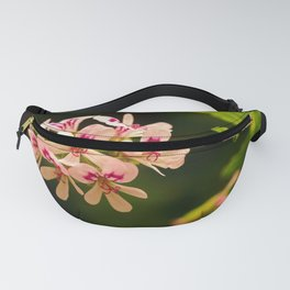Rose Geranium Flower Fanny Pack