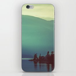 Summer at the Lake Turquoise iPhone Skin