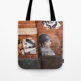 New York Street Art II Tote Bag