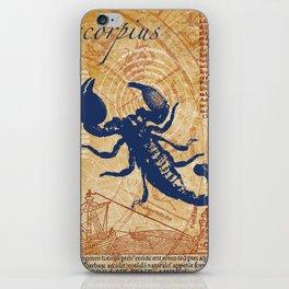 scorpius | skorpion iPhone Skin