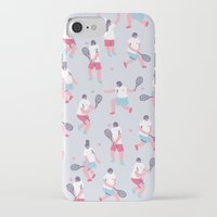 tennis iPhone & iPod Cases featuring Tennis by Sara Maese