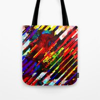 stripe Tote Bags featuring stripe by barmalisiRTB