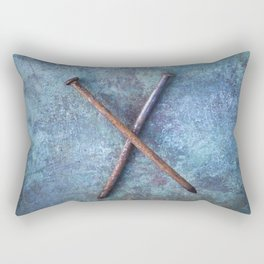 Two Nails Rectangular Pillow