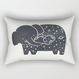 Because you love me Rectangular Pillow