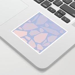 Pink gems Sticker