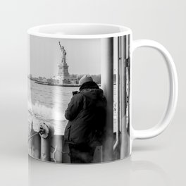 Liberty from the back of The Boat Coffee Mug