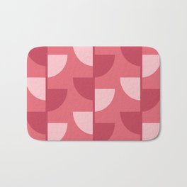 Strawberry Slices In The Summer Bath Mat