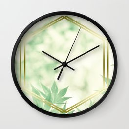 LUX x Natures Window Wall Clock