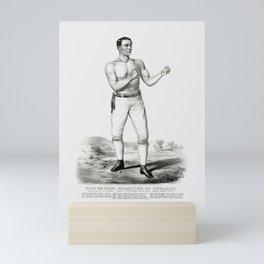 Tom Sayers - Champion Prize Fighter of England - 1860 Mini Art Print