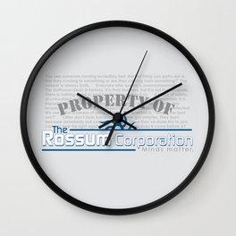 Rossum Wall Clock