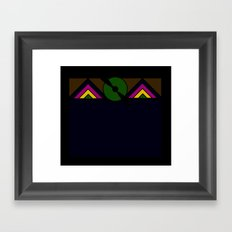 Aeroplano Framed Art Print