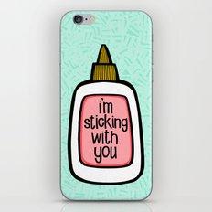 sticking with you ii iPhone & iPod Skin
