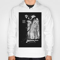 indiana jones Hoodies featuring Indiana Jones and the Temple of Doom by Meredith Mackworth-Praed