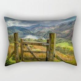 Valley Gate Rectangular Pillow
