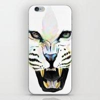 cheetah iPhone & iPod Skins featuring Cheetah  by Tetevi Teteh