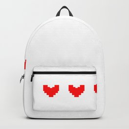 Full Gamer Hearts Let The Games Begin Backpack