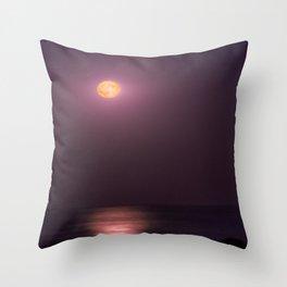 Full Moon High Throw Pillow
