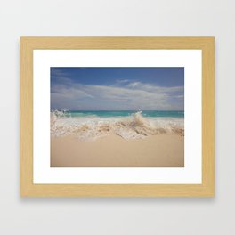 Amongst The Waves - Bermuda Framed Art Print