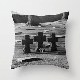 Belgian Memorial Throw Pillow