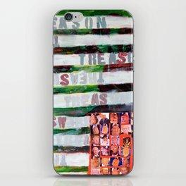 Treason iPhone Skin