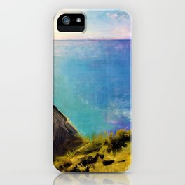 Cornish Headlands - Digital Remastered Edition iPhone Case