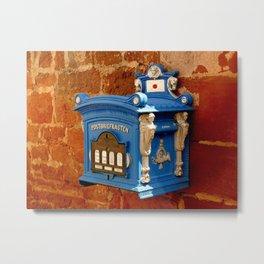 Mail Box Metal Print