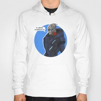 garrus Hoodies featuring Garrus by Pulvis