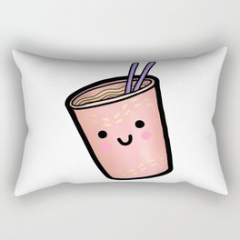 HAPPY LIL CUP NOODLE Rectangular Pillow