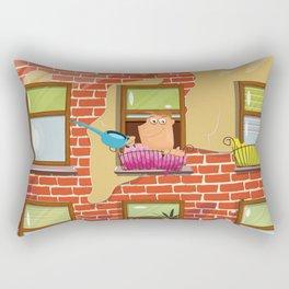 The Flats Rectangular Pillow