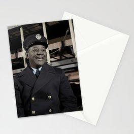 New York City Fireman c.1942 - Colourised Stationery Cards