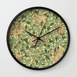 William Morris Honeysuckle Wall Clock