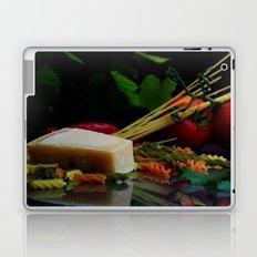 Parmesan cheese and pasta still life Laptop & iPad Skin