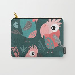 TROPICAL PARROTS Carry-All Pouch