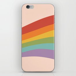 Rainbow Stripes 4 iPhone Skin