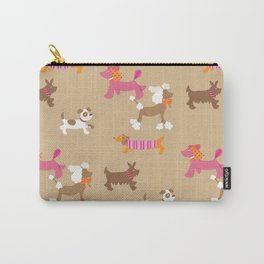 Walkies, Poodles, Sausage dogs and Terriers Carry-All Pouch